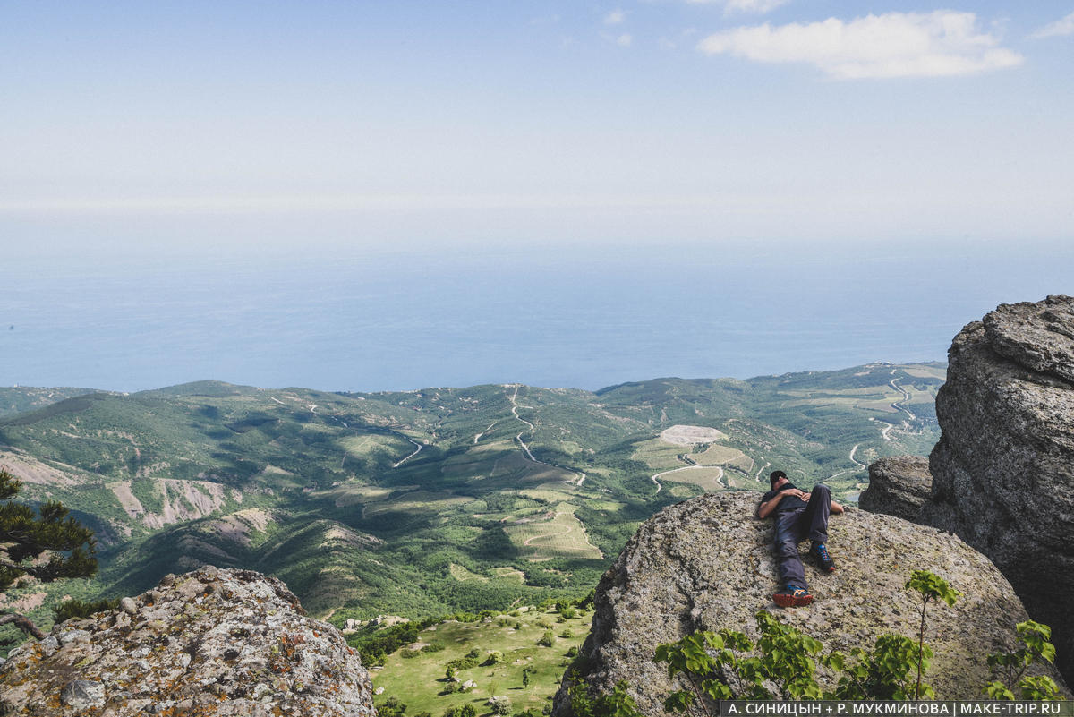 гора Демерджи, маршрут путешествия по Крыму
