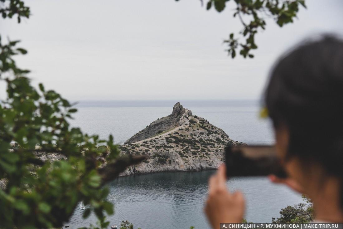 Крым, Новый свет, Тропа Голицына