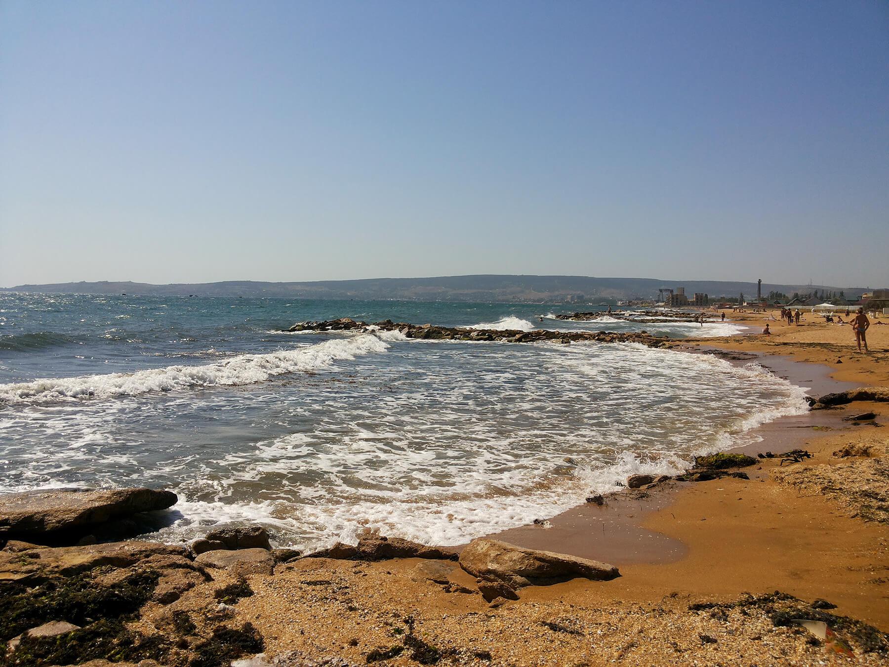 Чистые пляжи в Крыму с прозрачной водой