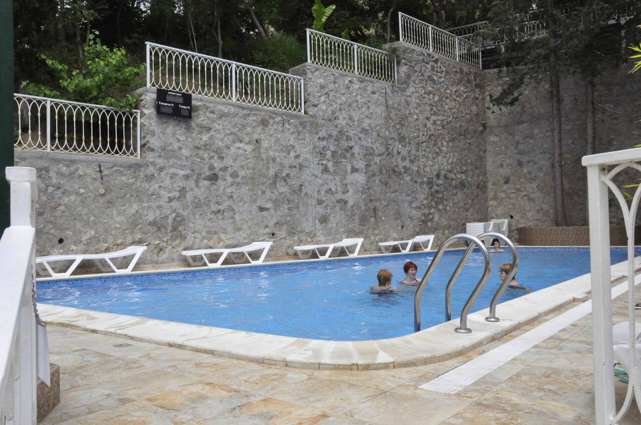 Отели в Крыму с подогревом бассейна