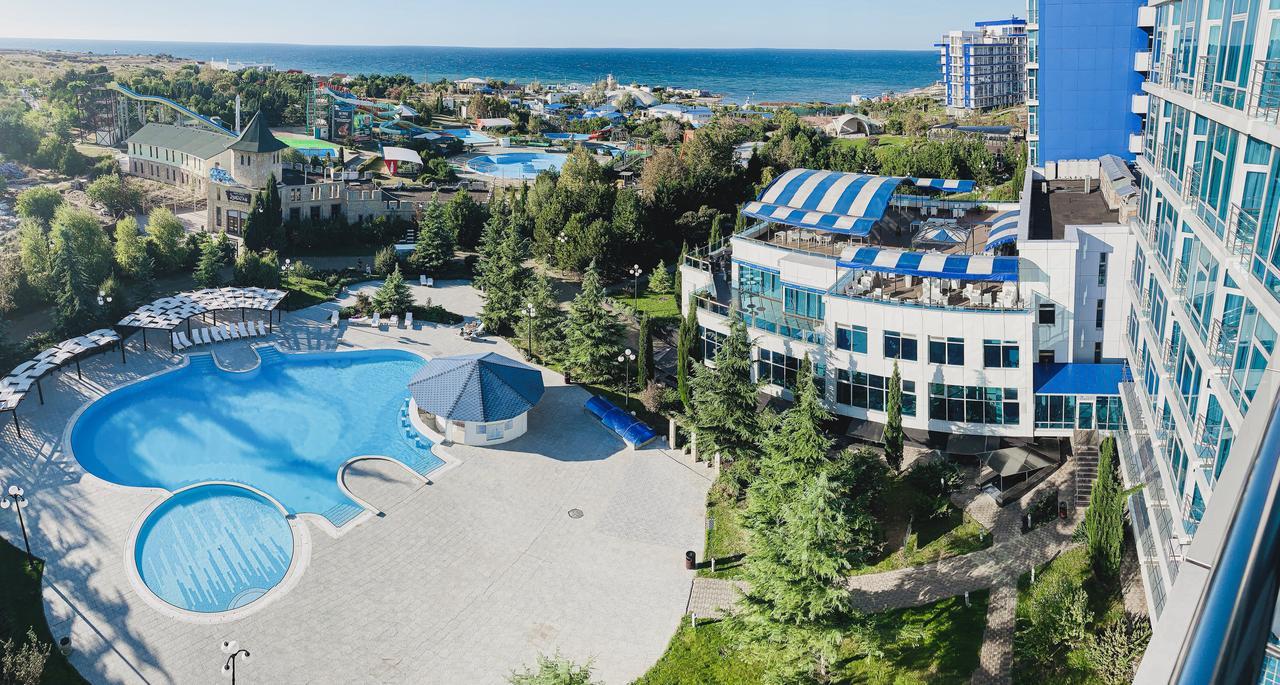 Отели в Крыму с подогреваемым бассейном