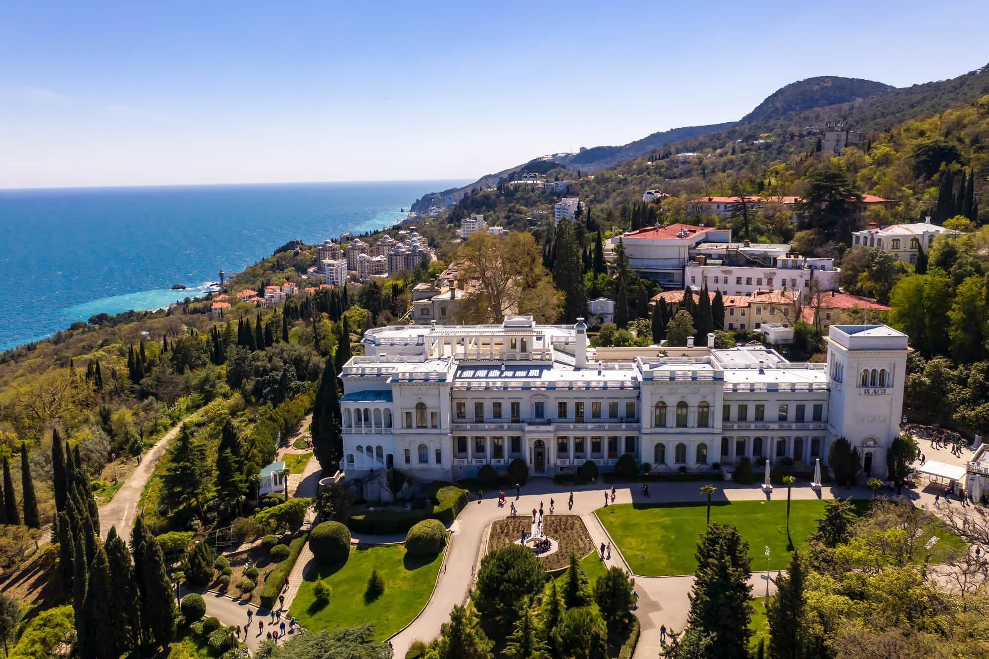 Фото Ливадийского дворца