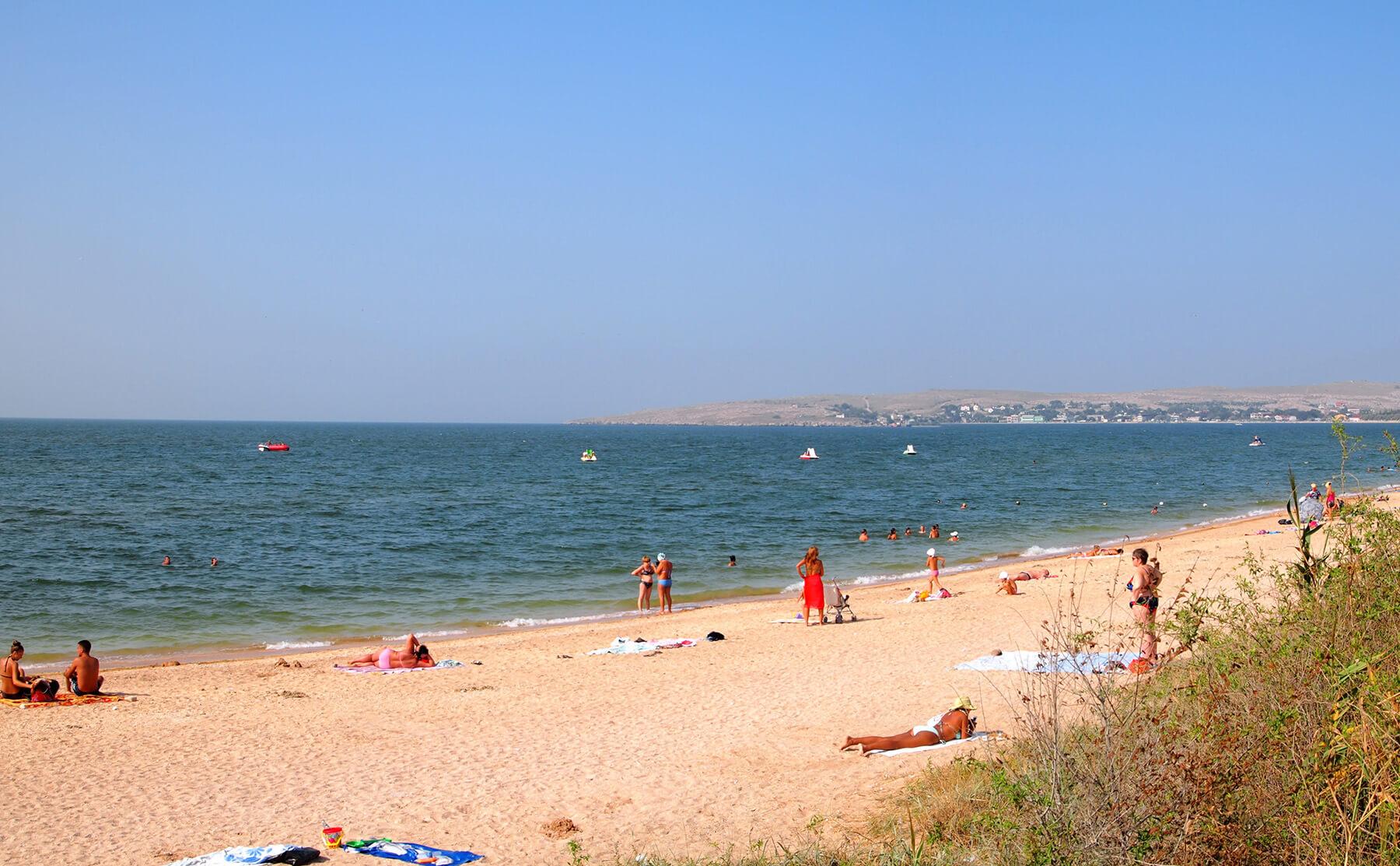 Отдых в Крыму на песчаных пляжах