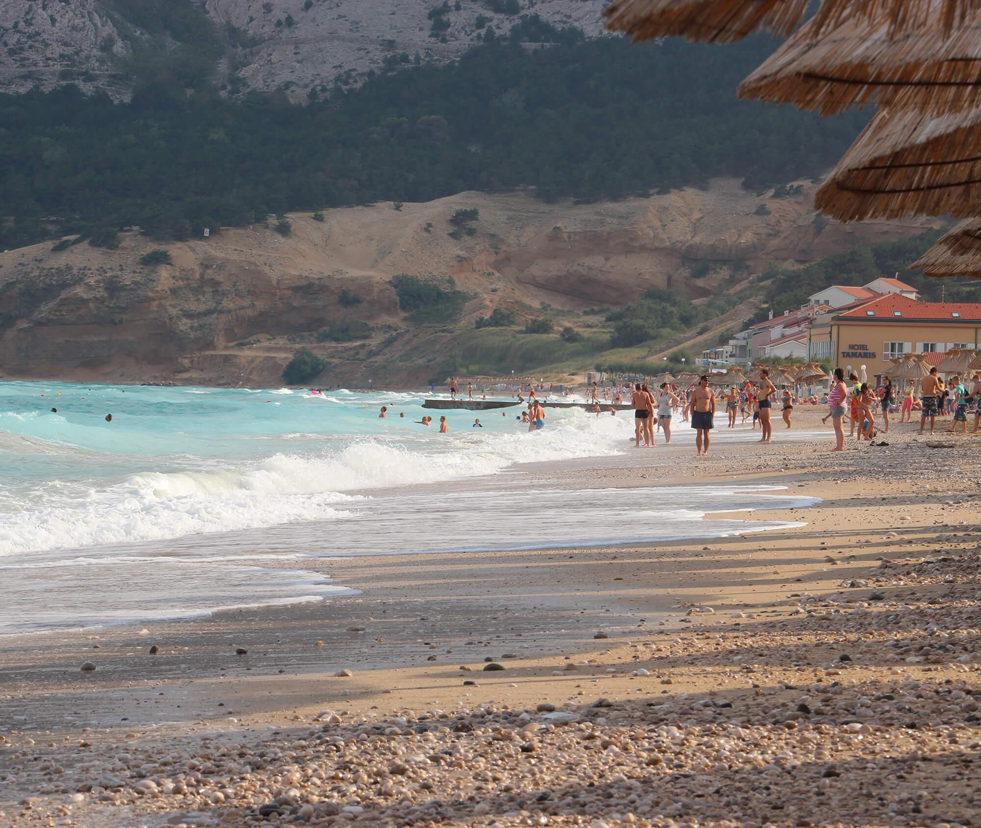Лучшие пляжи острова Крк в Хорватии