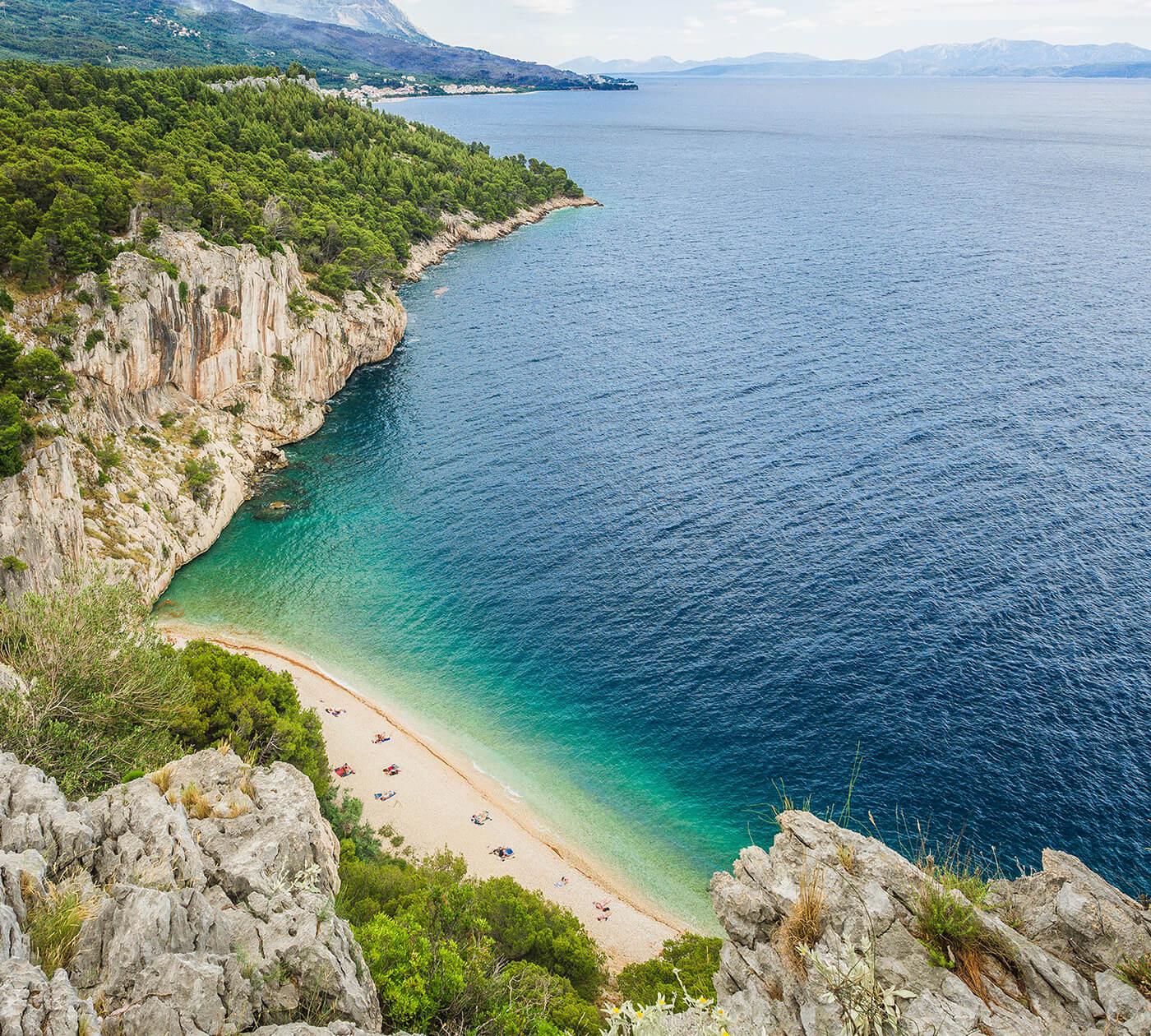 Где отдыхать на море в Хорватии