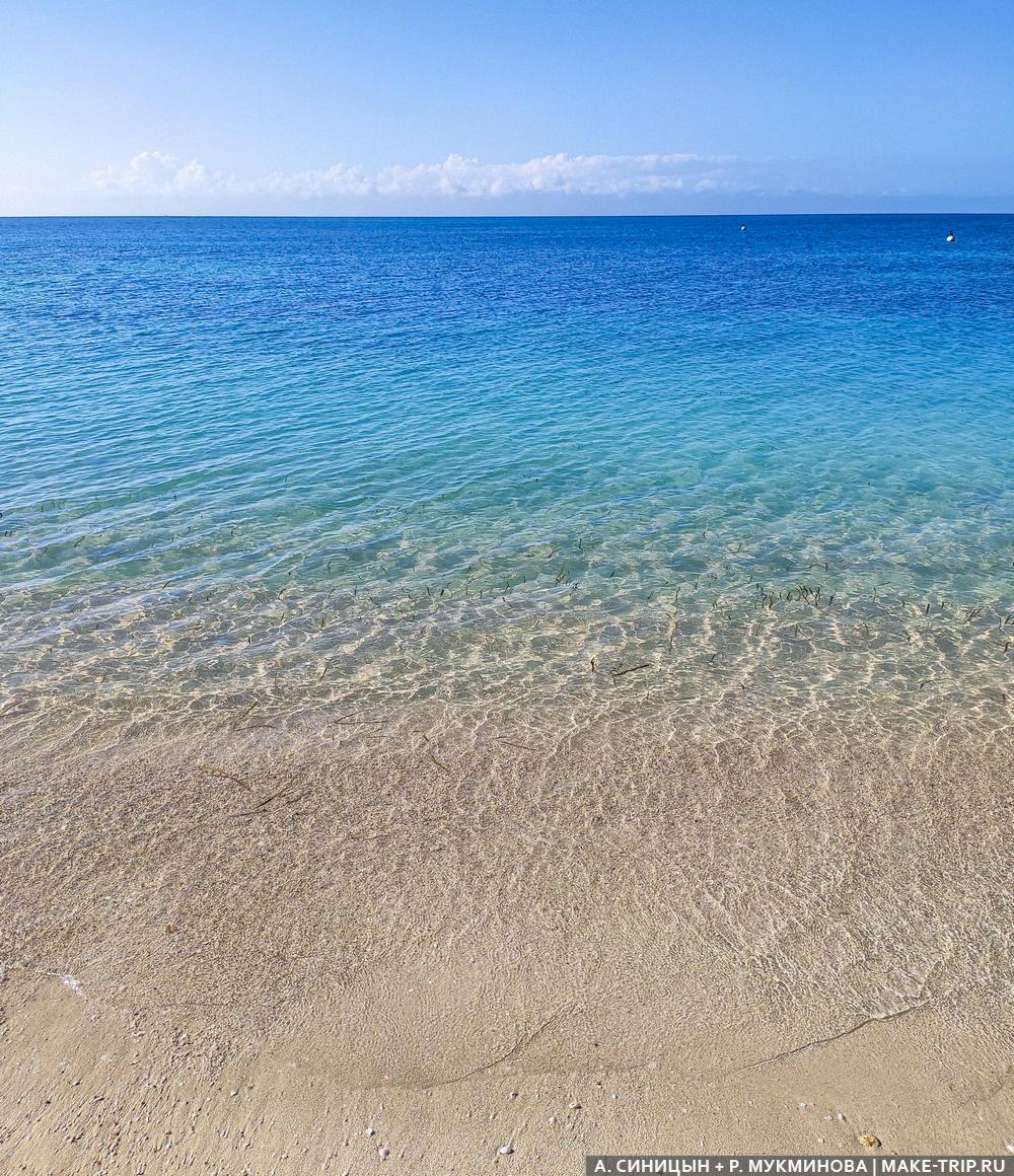 Пляжный отдых в апреле за границей
