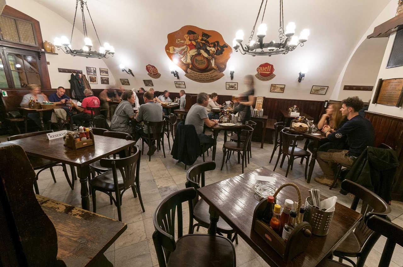 Пивные и бары в Праге