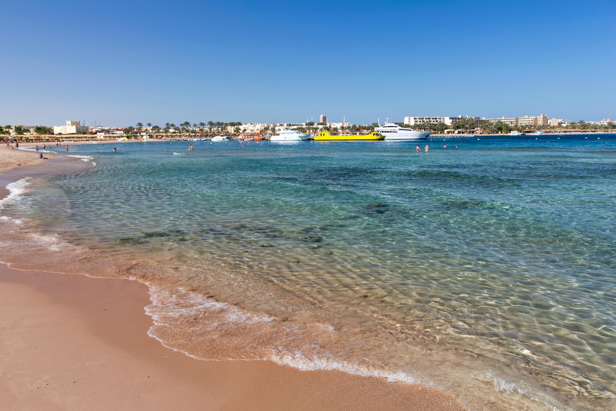 Лучшие пляжи в Египте