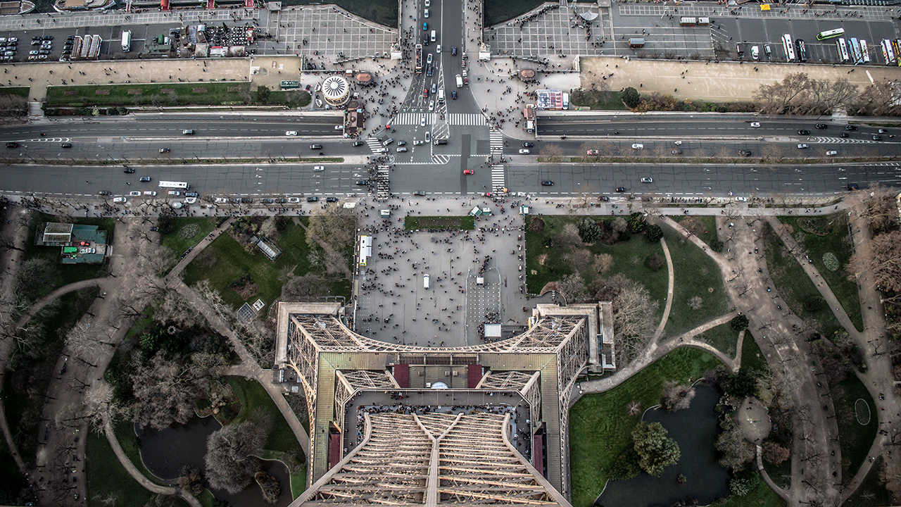 Экскурсия на Эйфелеву башню