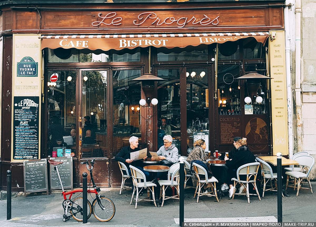 Где вкусно и недорого поесть в Париже