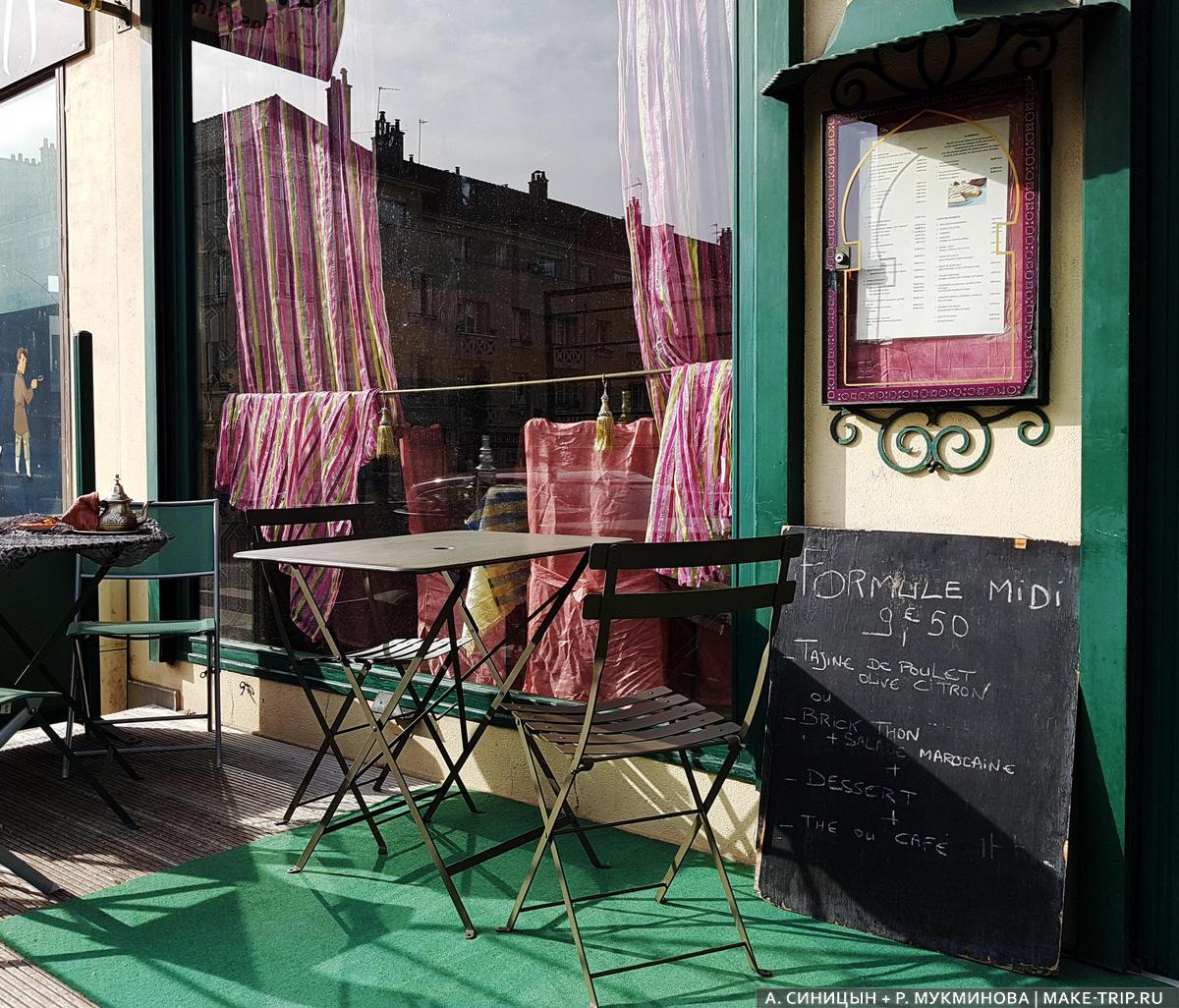 Цены на еду в Париже в кафе