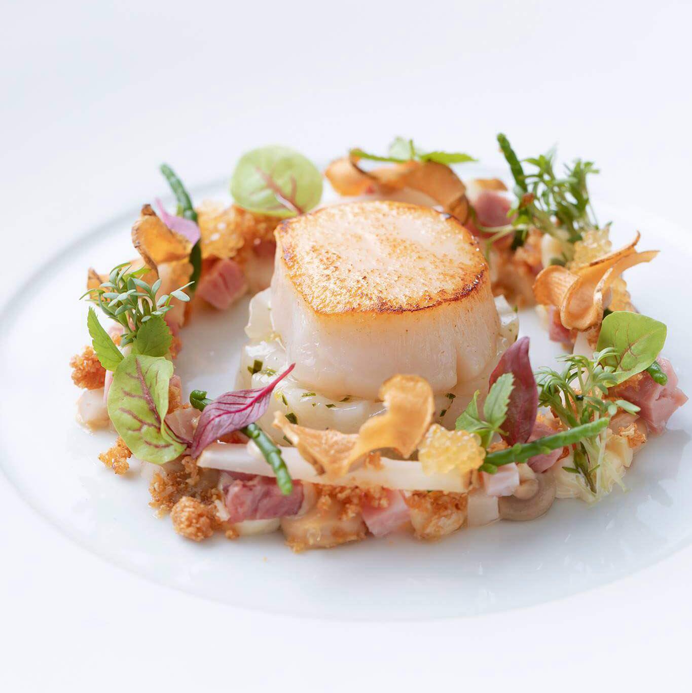 Ресторан Берлина со звездой Мишлен