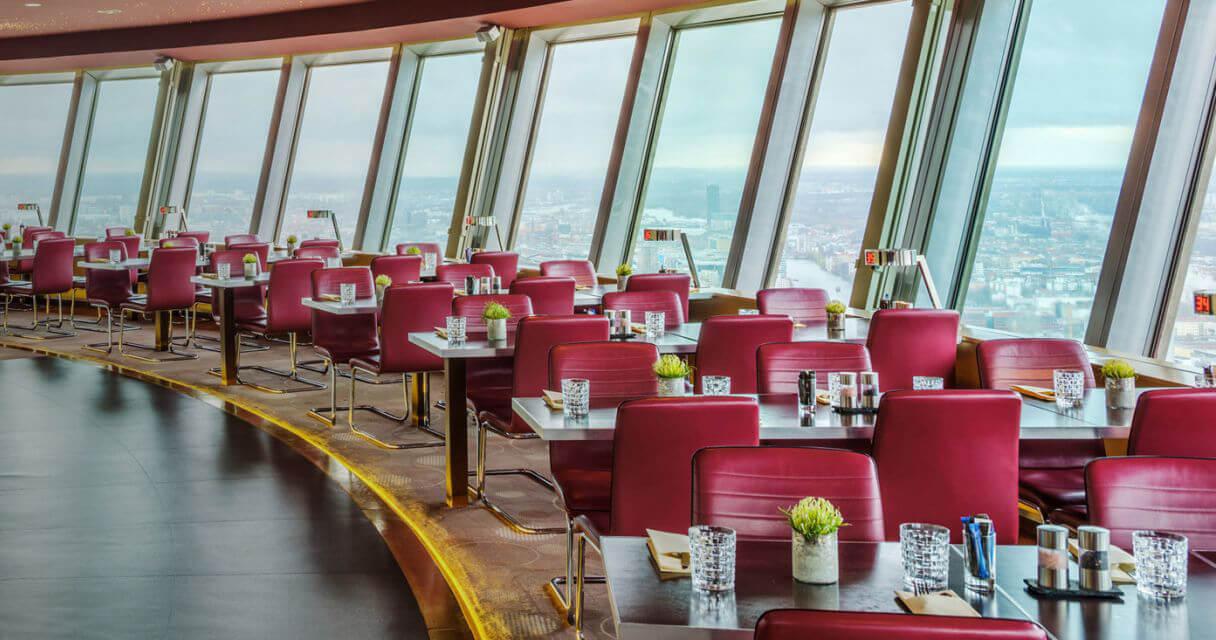 Ресторан берлина с панорамным видом