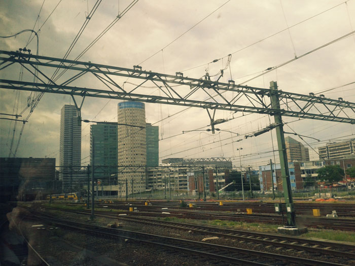 поезда голландии железные дороги