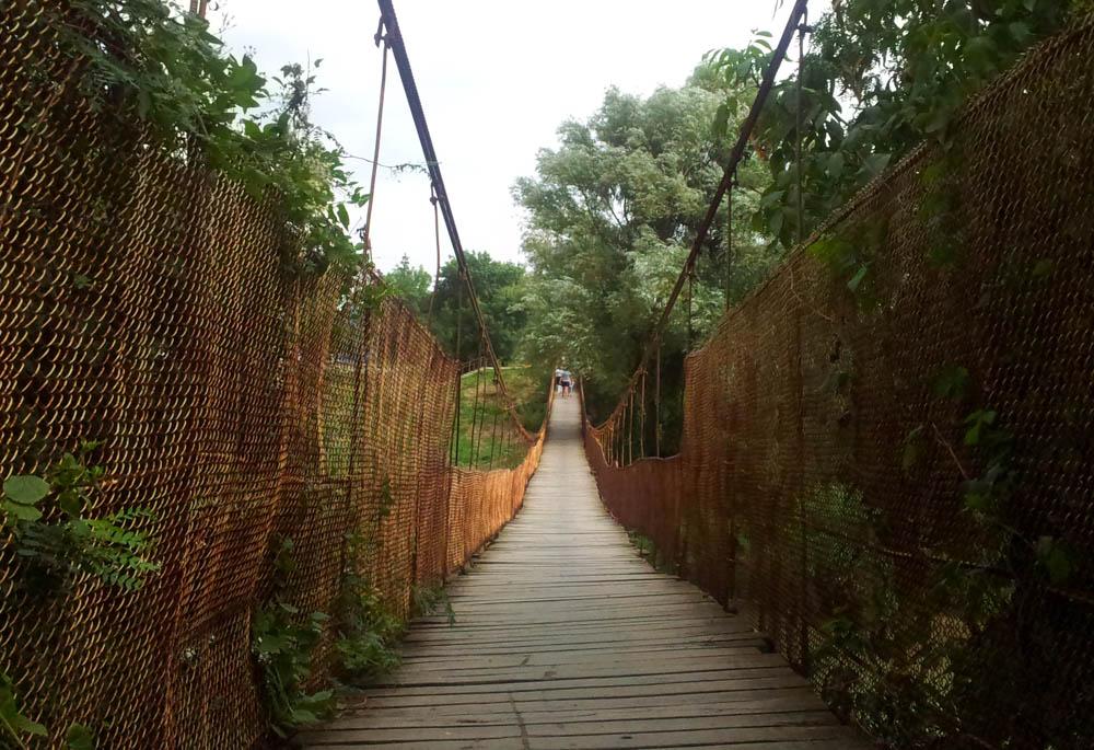 висячий мост абинск