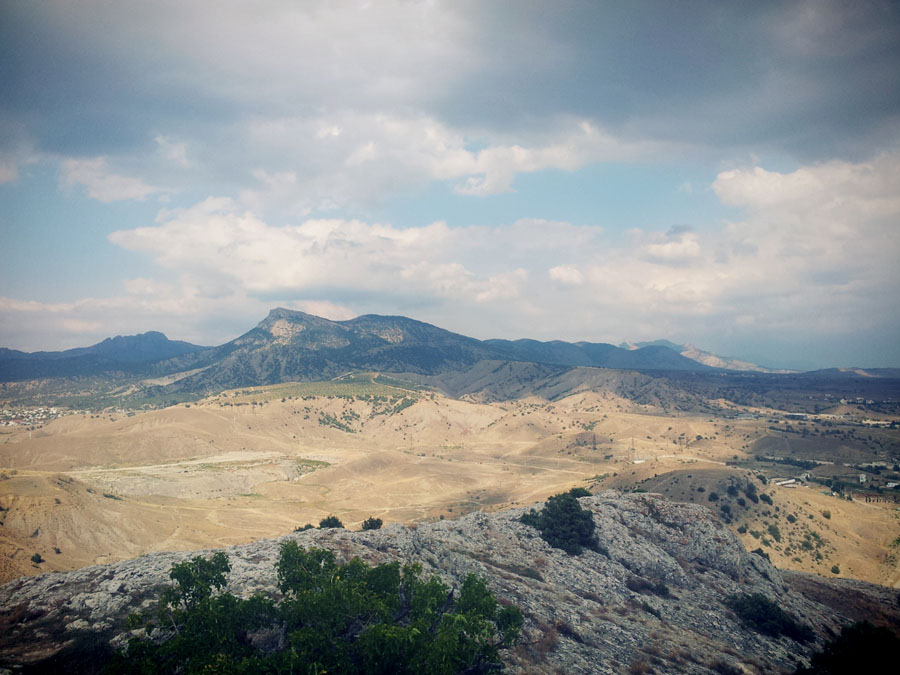крымские горы крым