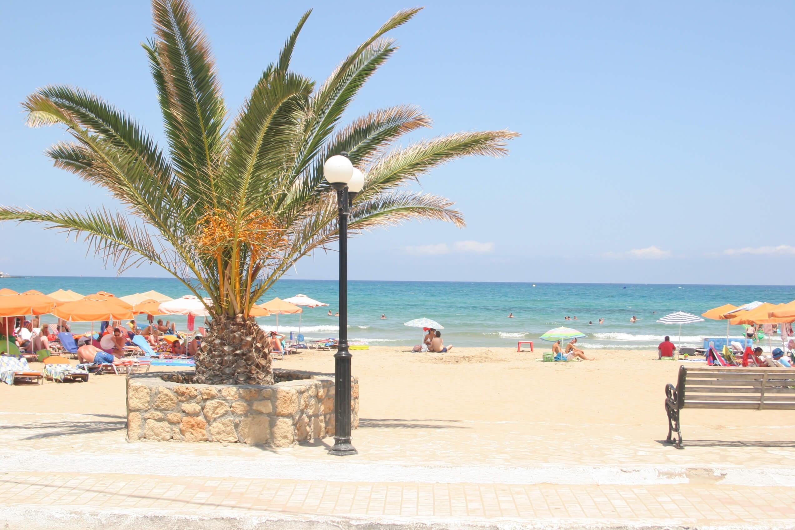 Пляжный отдых на Крите