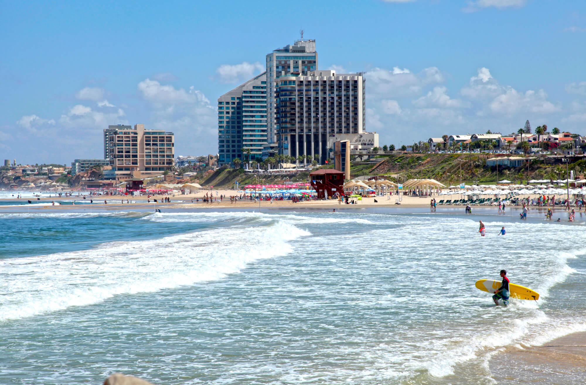 Какой курорт Израиля выбрать для отдыха на море