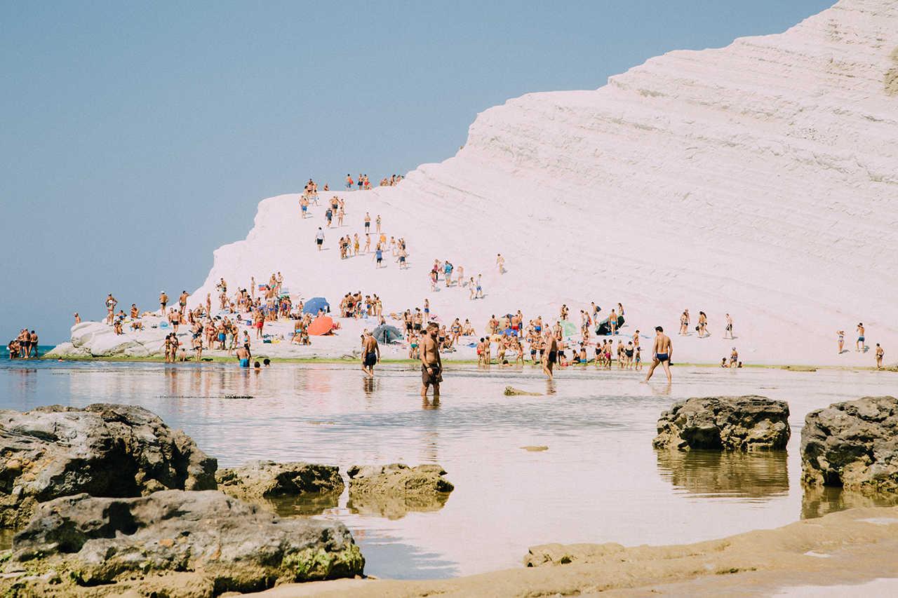 Температура воды и воздуха на Сицилии