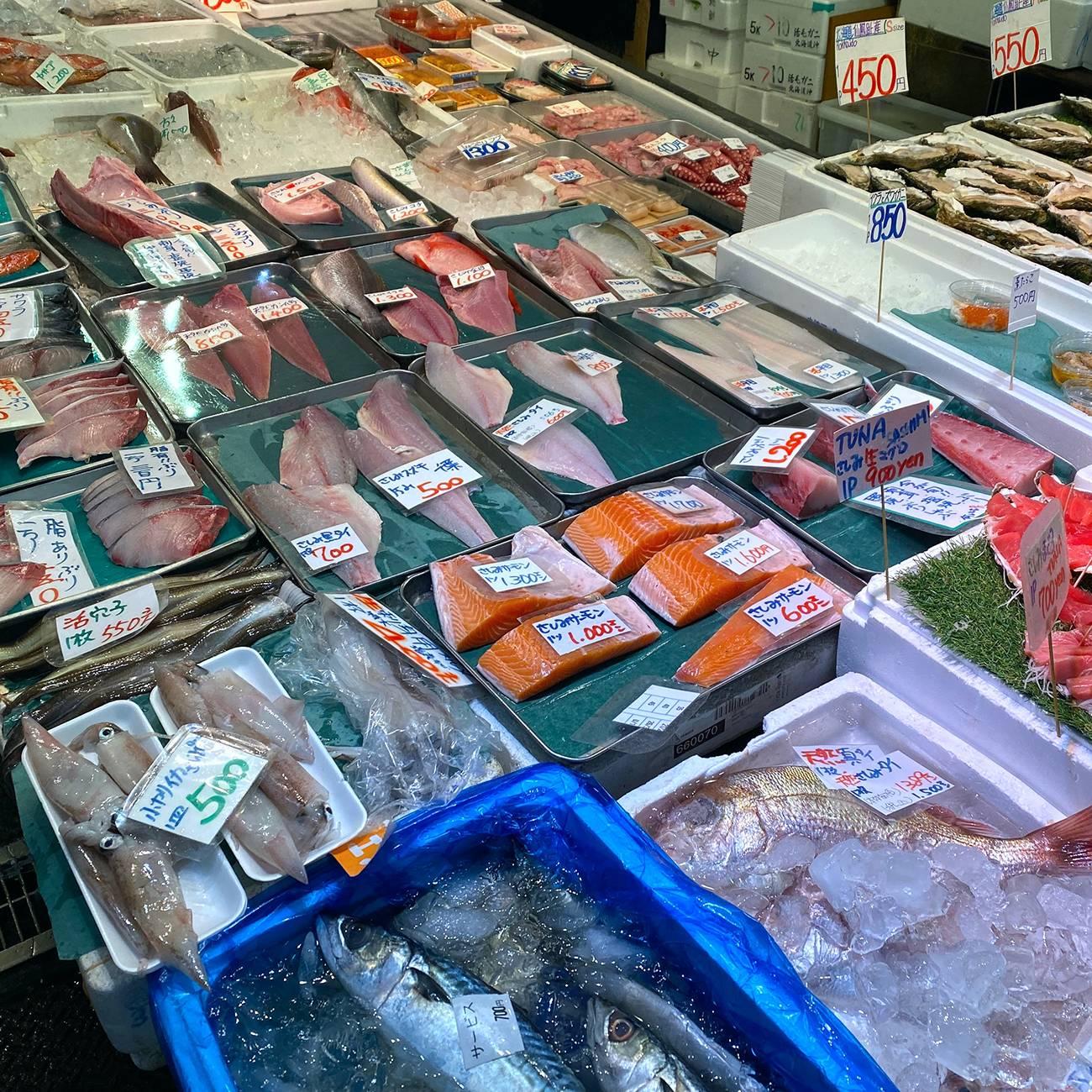 Рыбные рынки в Токио