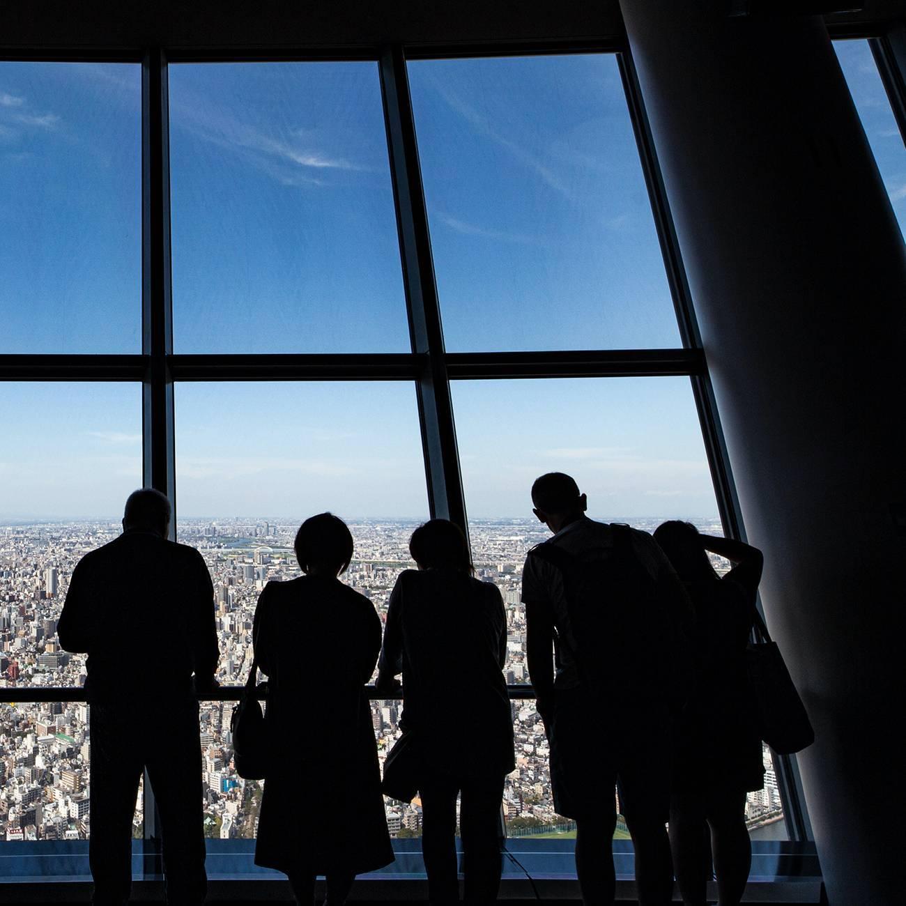 Tokyo Skytree в Токио в Японии