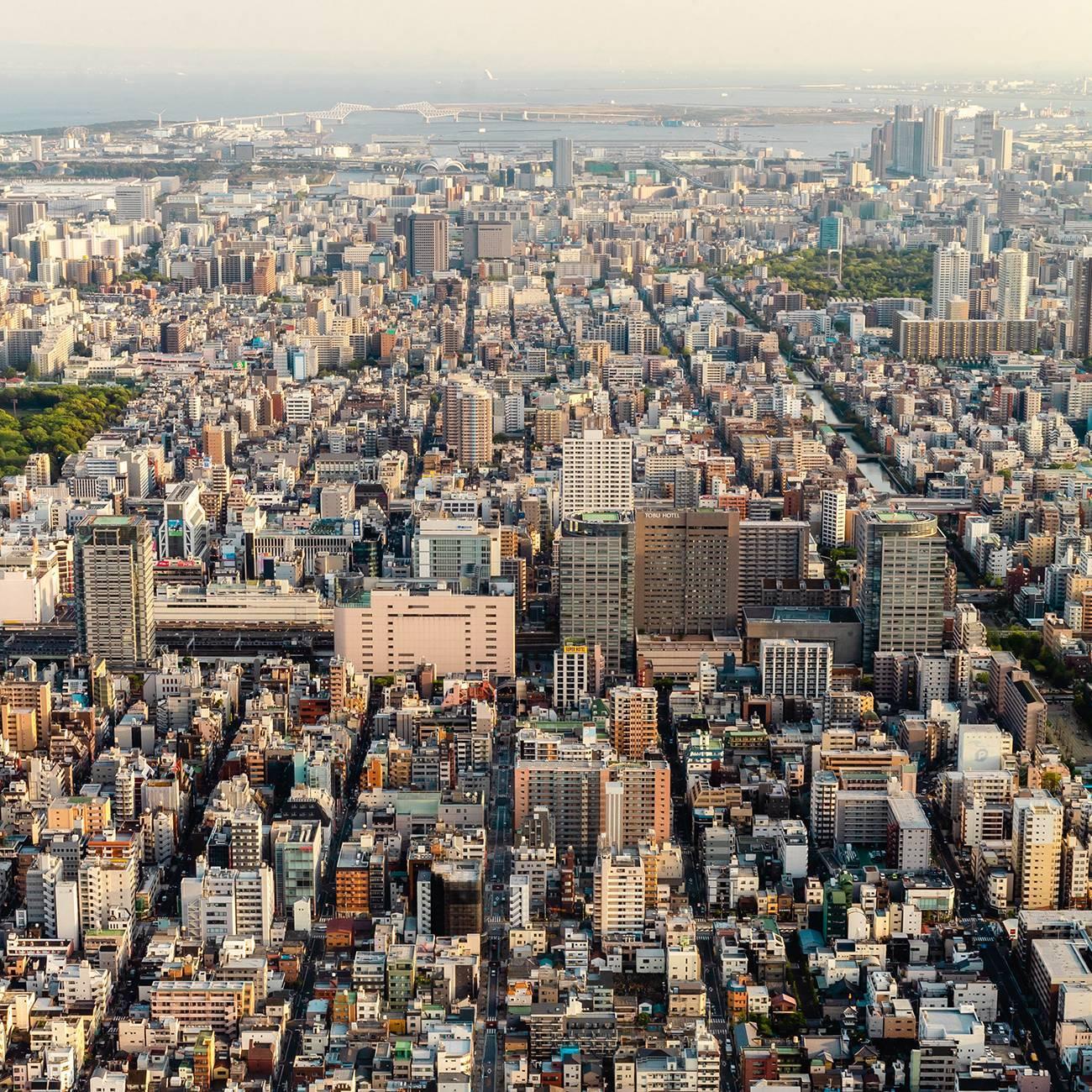 Вид с Tokyo Skytree