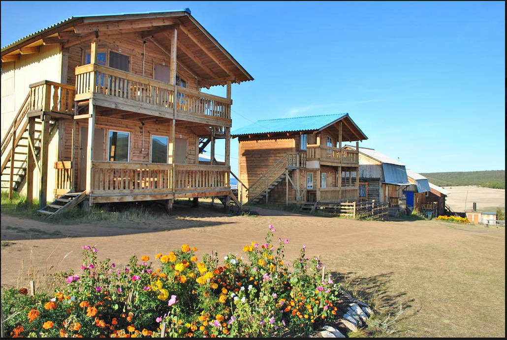Отдых летом на базе на Байкале