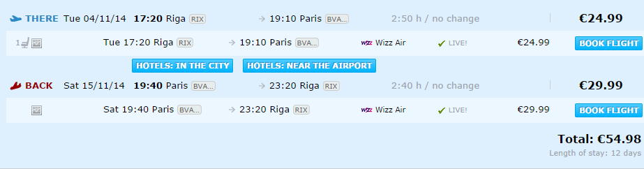 как долететь до парижа дешево