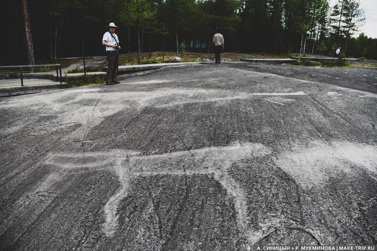 Беломорские петроглифы в Карелии