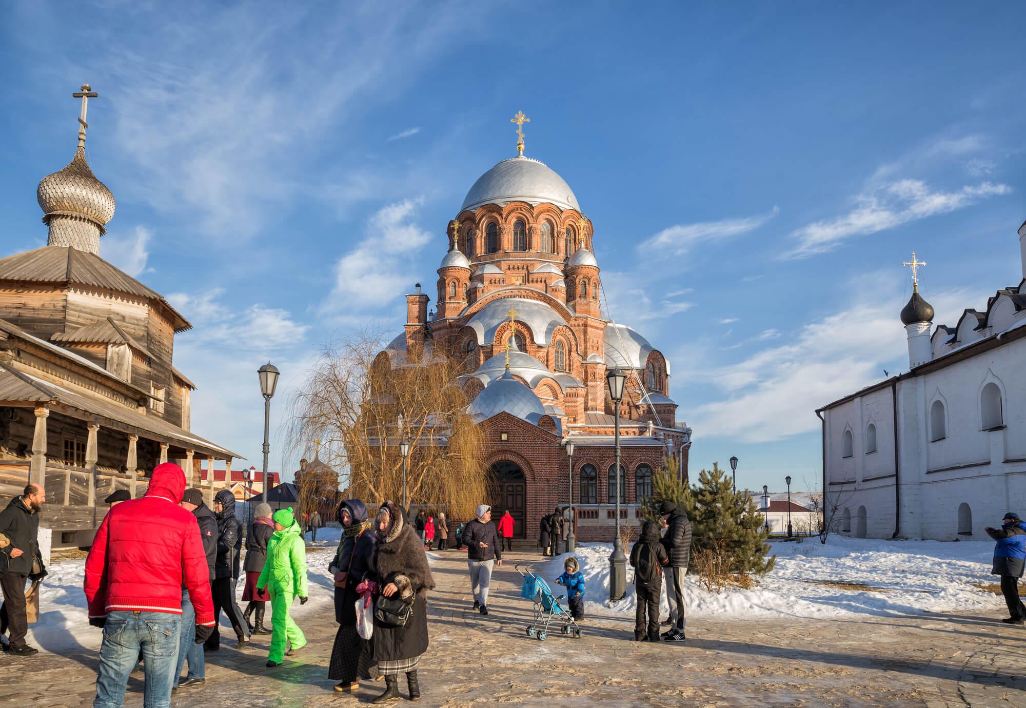 Погода в Казани зимой