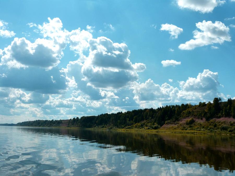 г. Котельнич. Река Вятка.