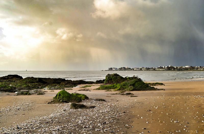 Бискайский залив. Франция.