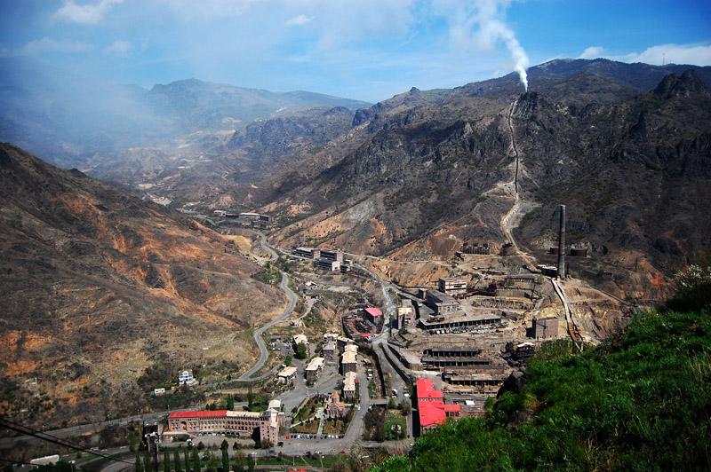 Поселок Ананури, Армения.
