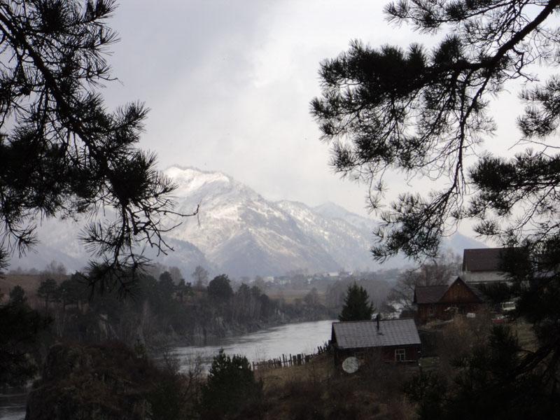 Горный Алтай. Река Катунь. Чемал.