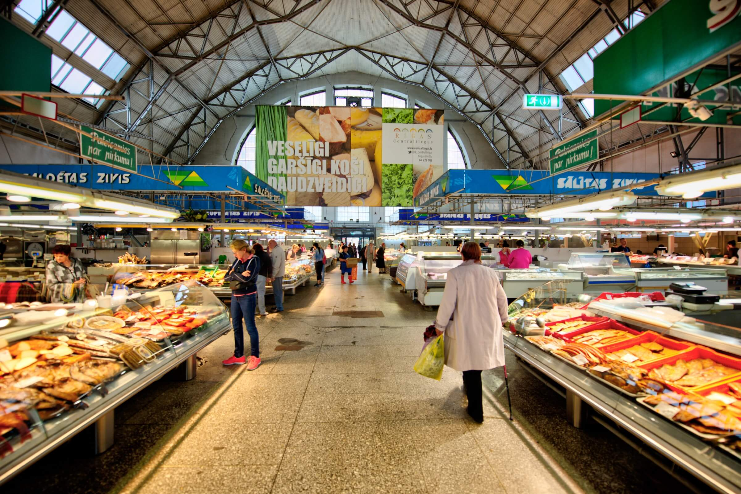 Какие цены на продукты в Риге