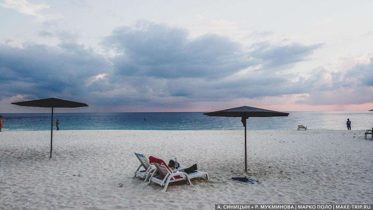 пляжный отдых на Мальдивах недорого
