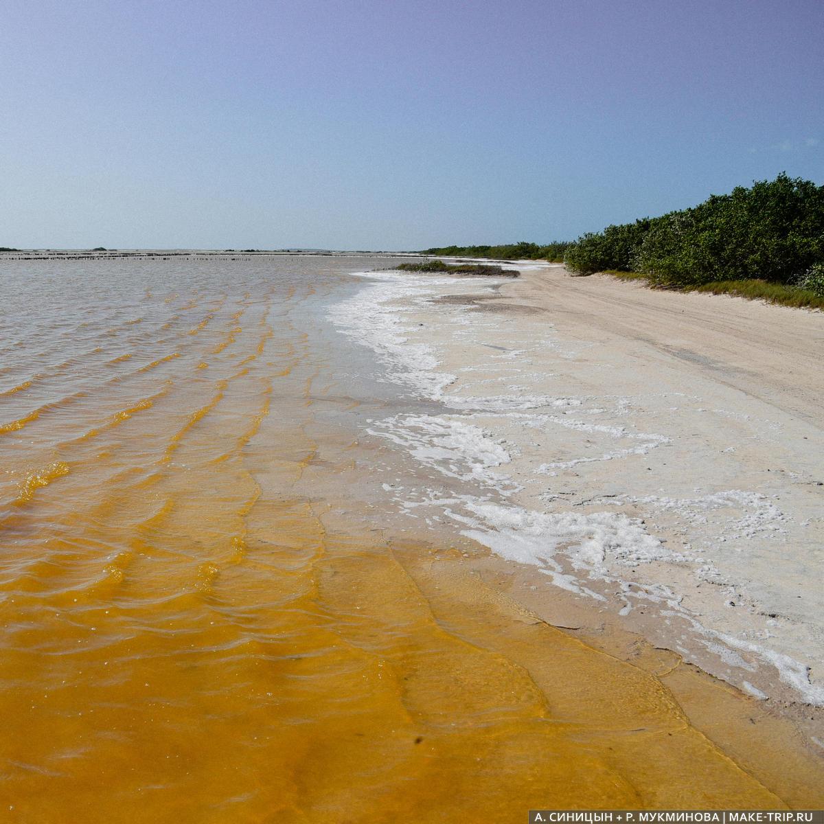 соленое озеро мексика