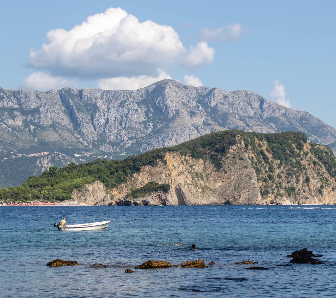 Острова и пляжи Будвы