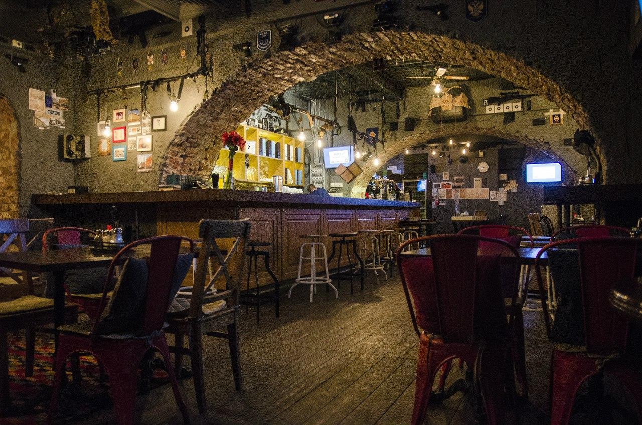 Необычные бары в центре Москвы