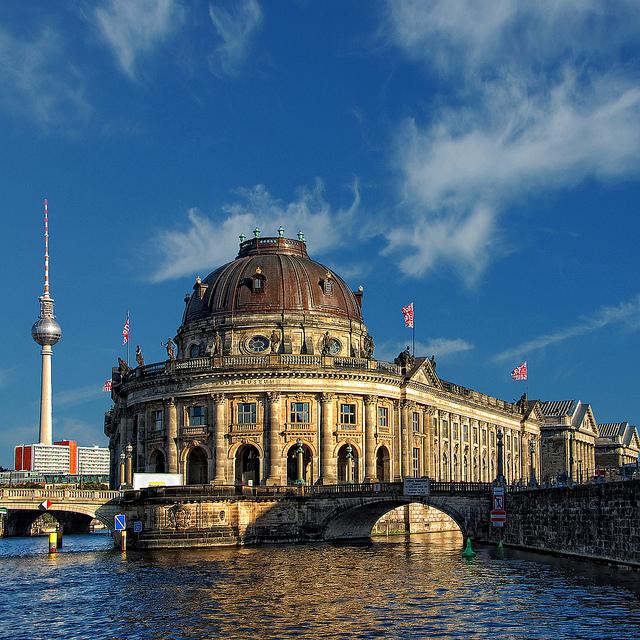 бесплатные музеи Берлина - музей Боде