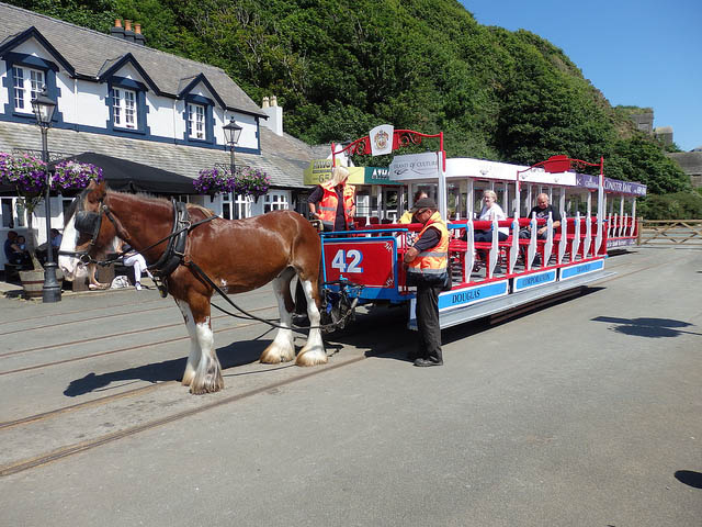 конный трамвай острова мэн