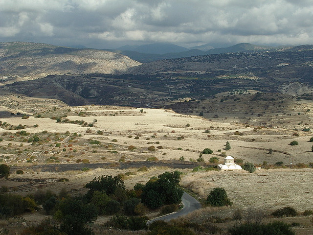 пейзажи кипра - полуостров акамас