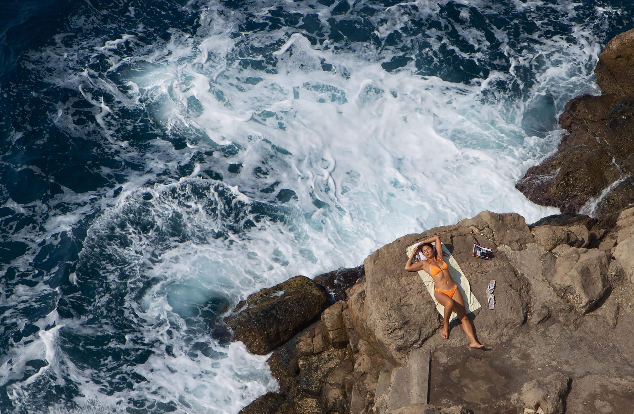 пляжный отдых в августе у моря в Хорватии