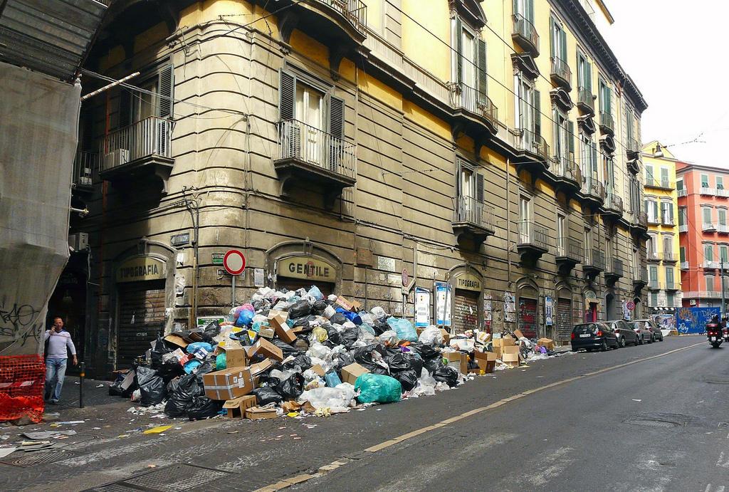 Самые грязные города Европы
