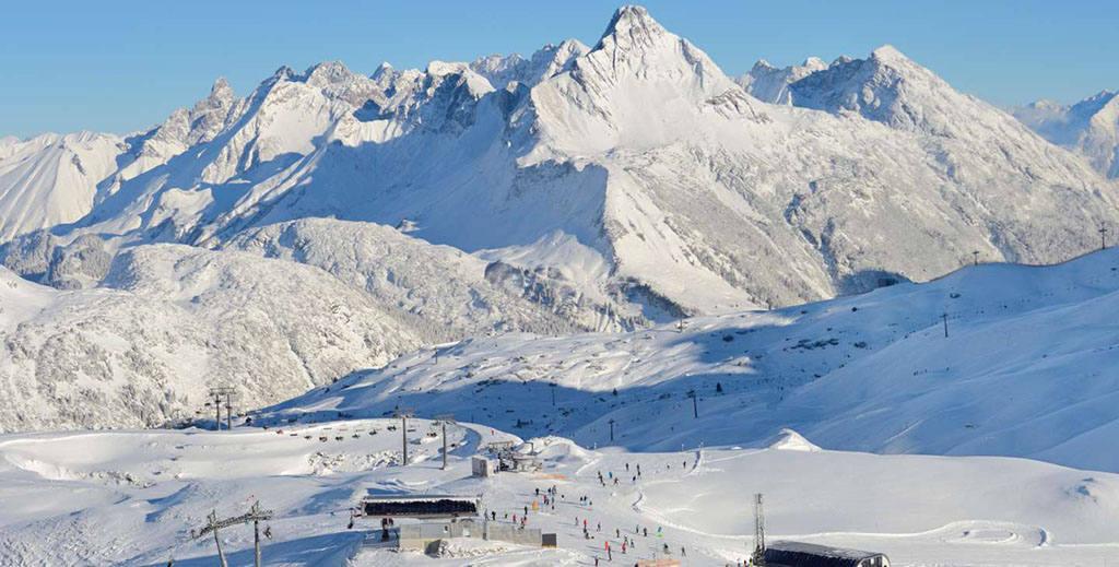 Список лучших горнолыжных курортов Австрии