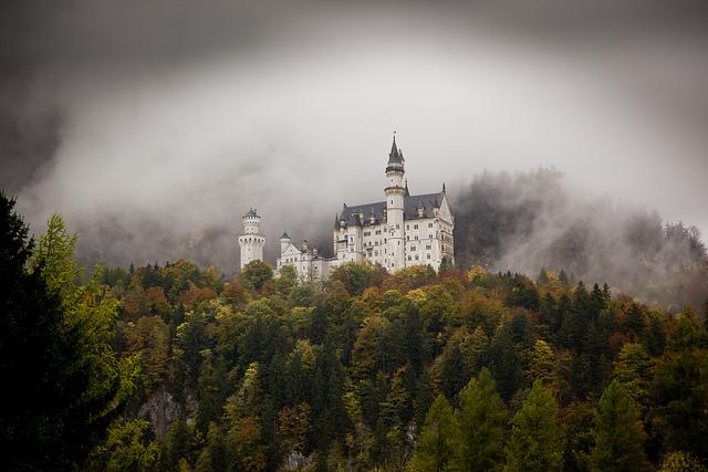 самостоятельно путешествие в баварию