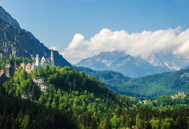 путешествие в баварию