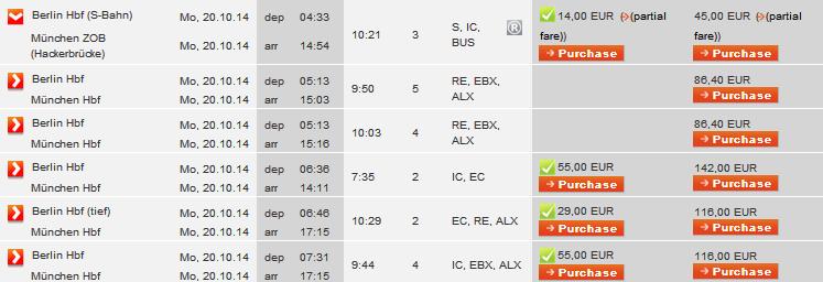 билеты на поезд в мюнхен