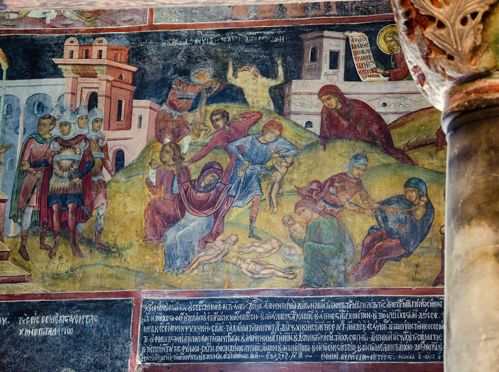 Фото в церкви в Болгарии