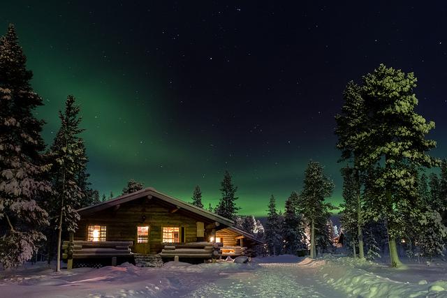 коттедж в финляндии на новый год
